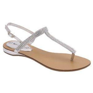 Nature Breeze Jeweled Sandals